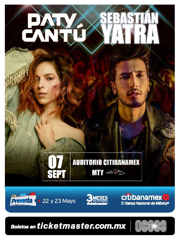 Paty Cantú y Sebastián Yatra